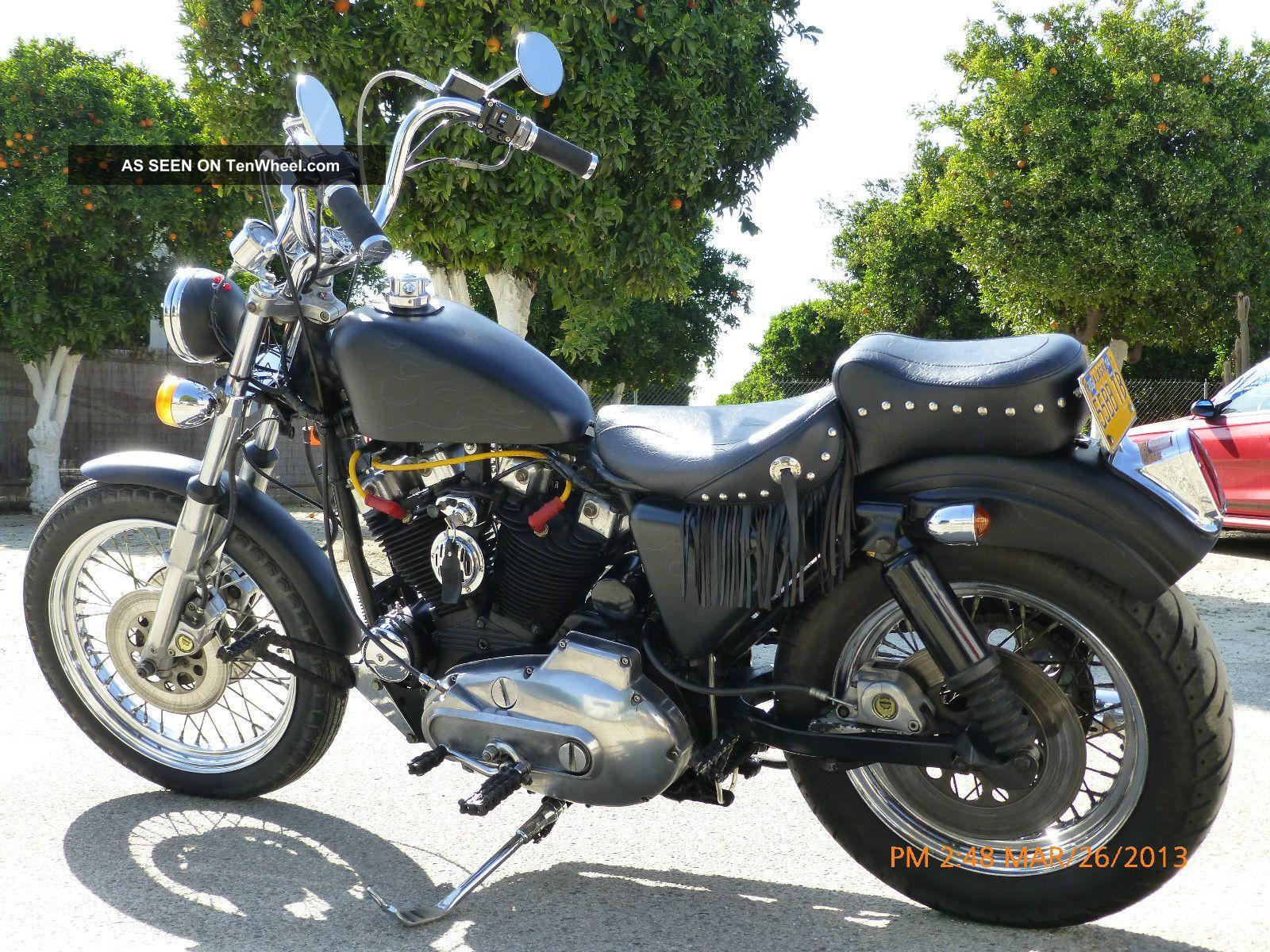 1979 Harley Davidson Ironhead Sportster Sportster photo