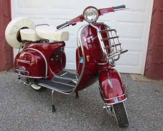 1966 Vespa Vbc - Completely - Frame And Engine photo