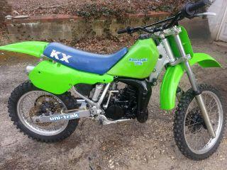 Vintage 1987 Kawasaki Kx 125 Ahrma Powder Coat photo
