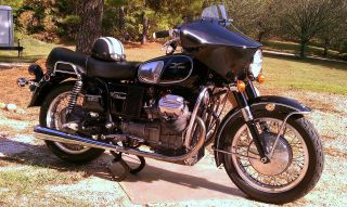 1972 Moto Guzzi Eldorado 850 With Wixom Fairing photo