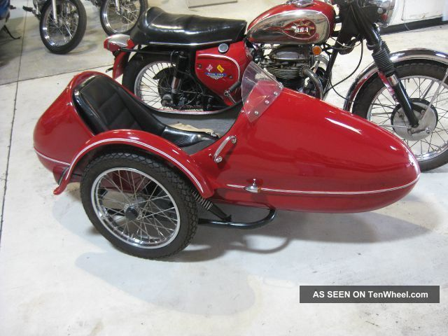 1968 Bsa A50 Royal Star 500 Nr W / Sidecar Side Car World Wide Seller BSA photo