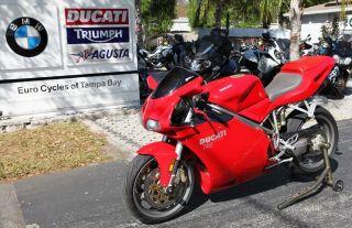 2003 Ducati 748 Red photo
