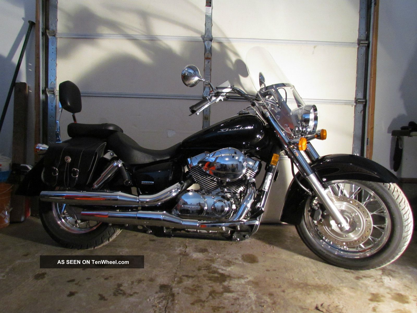 2009 Honda Shadow Vt750 Ca Black Shadow photo