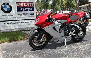 2013 Mv Agusta F3 675 In Red photo