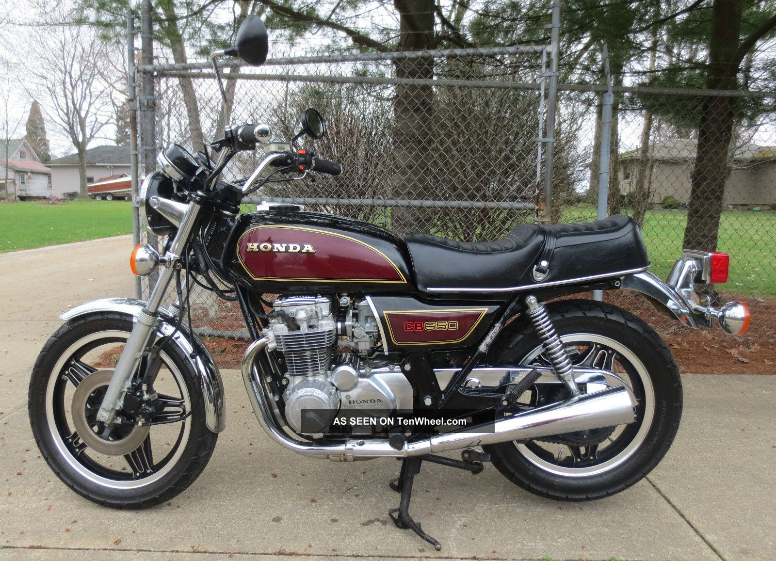 1979 Honda Cb650 Paint Motorcycle Bike Ready To Ride CB photo