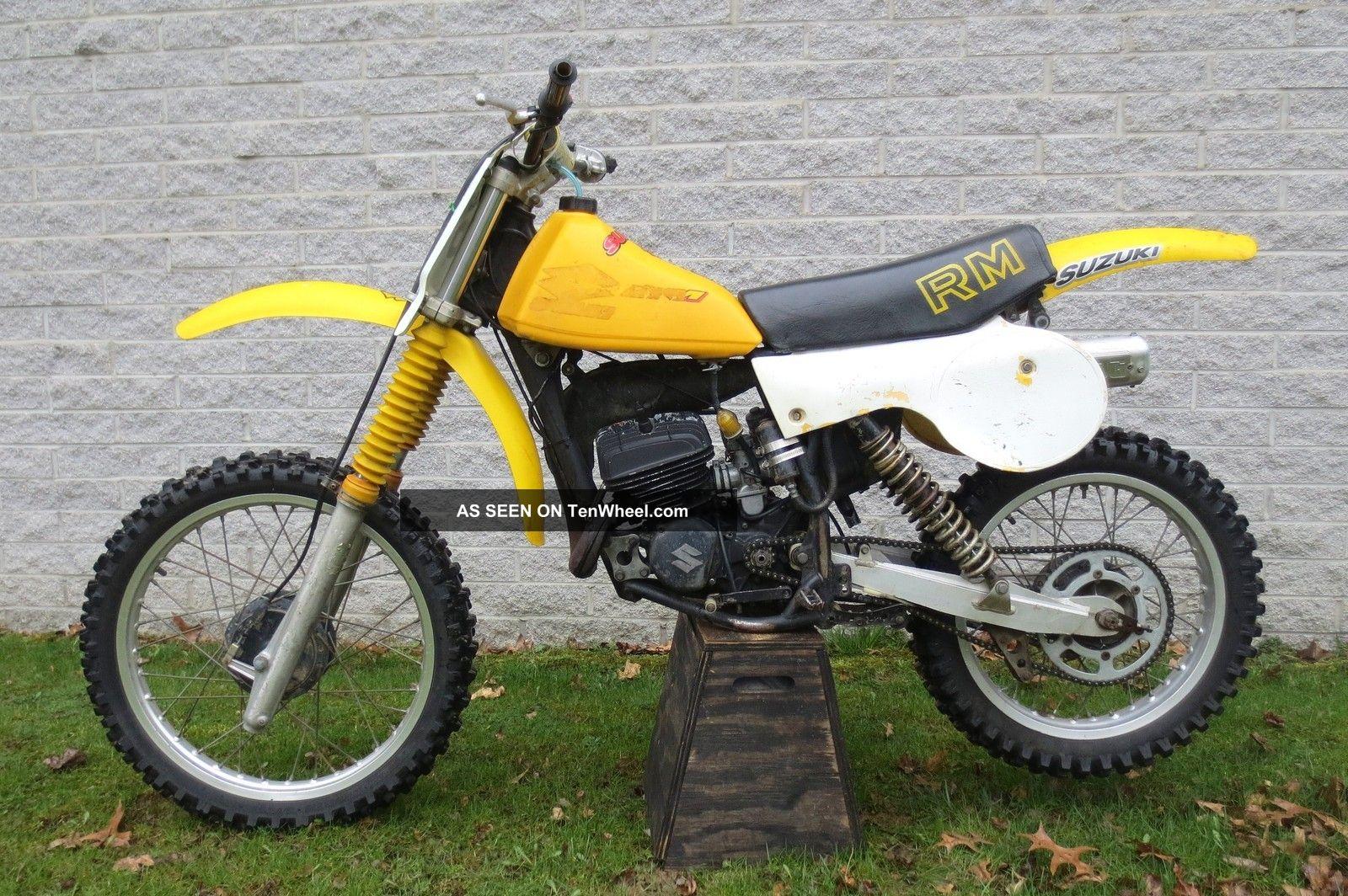 1979 Suzuki Rm125 Motocross Racer Trail Bike Ready To Ride RM photo