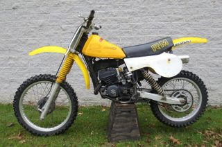 1979 Suzuki Rm125 Motocross Racer Trail Bike Ready To Ride photo