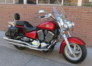 2003 Victory V92 Touring Cruiser - Red - - photo