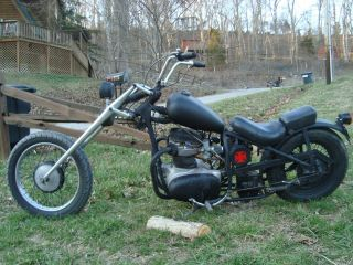 1965 Bsa A65 650 Motorcycle Chopper photo