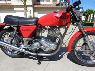 1971 Norton 750 Commando photo