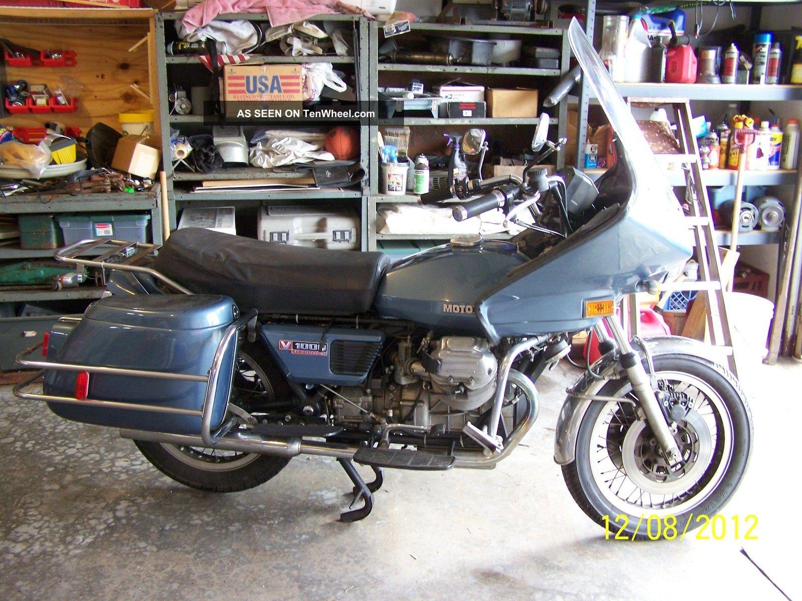 1977 Moto Guzzi Convert 1000 Moto Guzzi photo