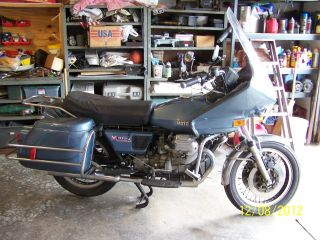 1977 Moto Guzzi Convert 1000 photo