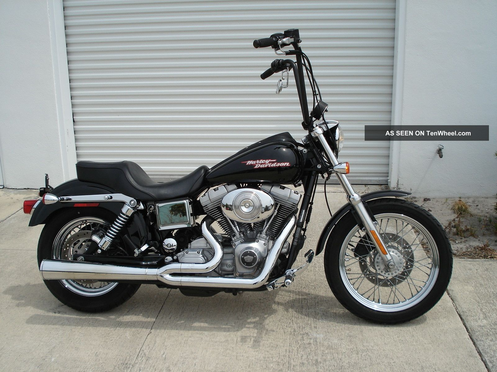 2004 Harley Davidson Dyna Glide Fxd Very Cool Skool Bike Dyna photo
