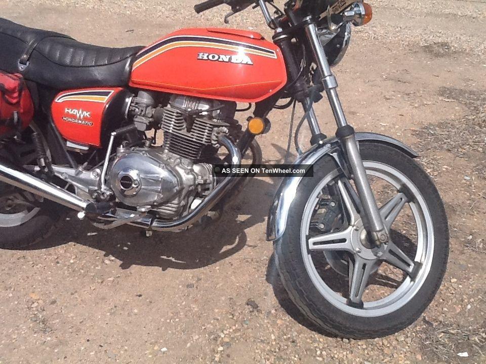 1978 Honda Cb400a Hawk Hondamatic