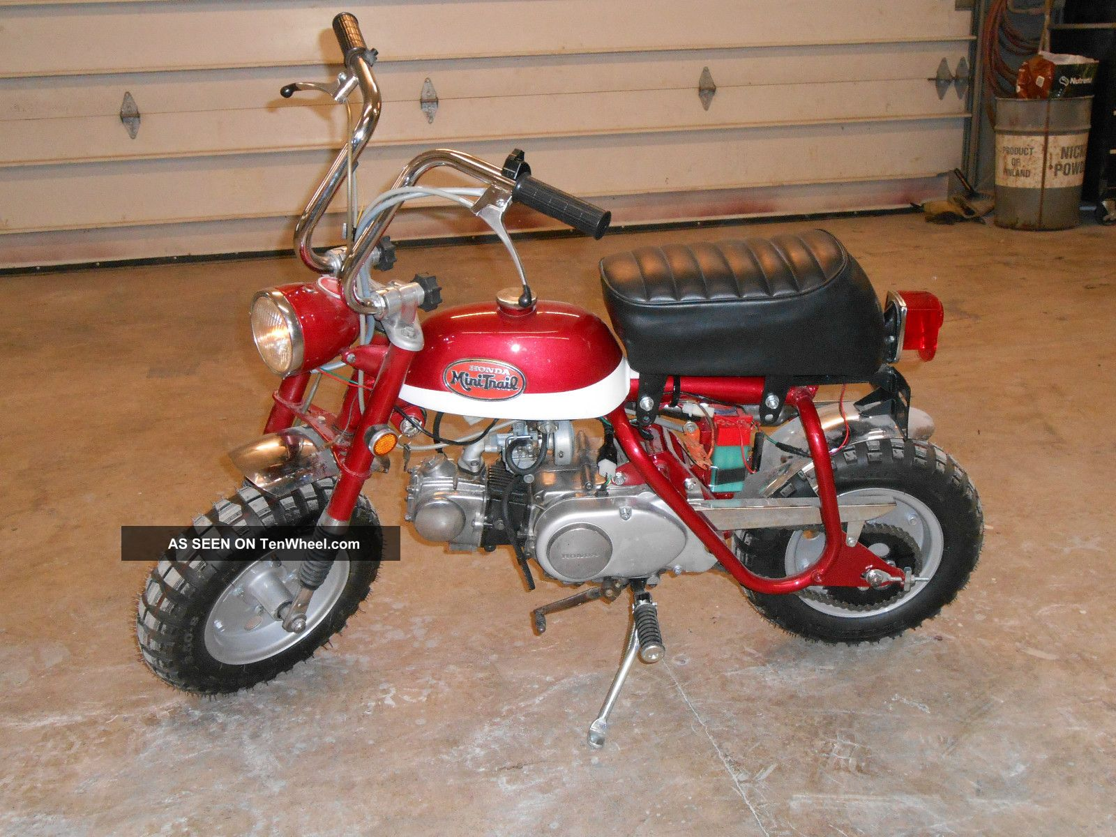 Triumph Bonneville T120 Specs >> 1969 Or 1970 Honda Z50 Mini Trail - And Ready To Ride