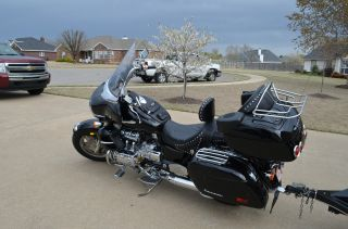 1999 Honda Valkyrie Interstate & Pull Behind Enclosed Trailer photo
