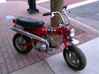 Honda Ct 70 1970 Trail 70 3spd Automatic,  Runs And Looks Excellent photo