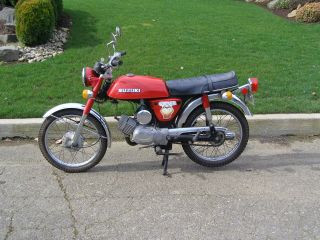 1976 Suzuki A100 Go - Fer 100cc Vintage Street Bike photo