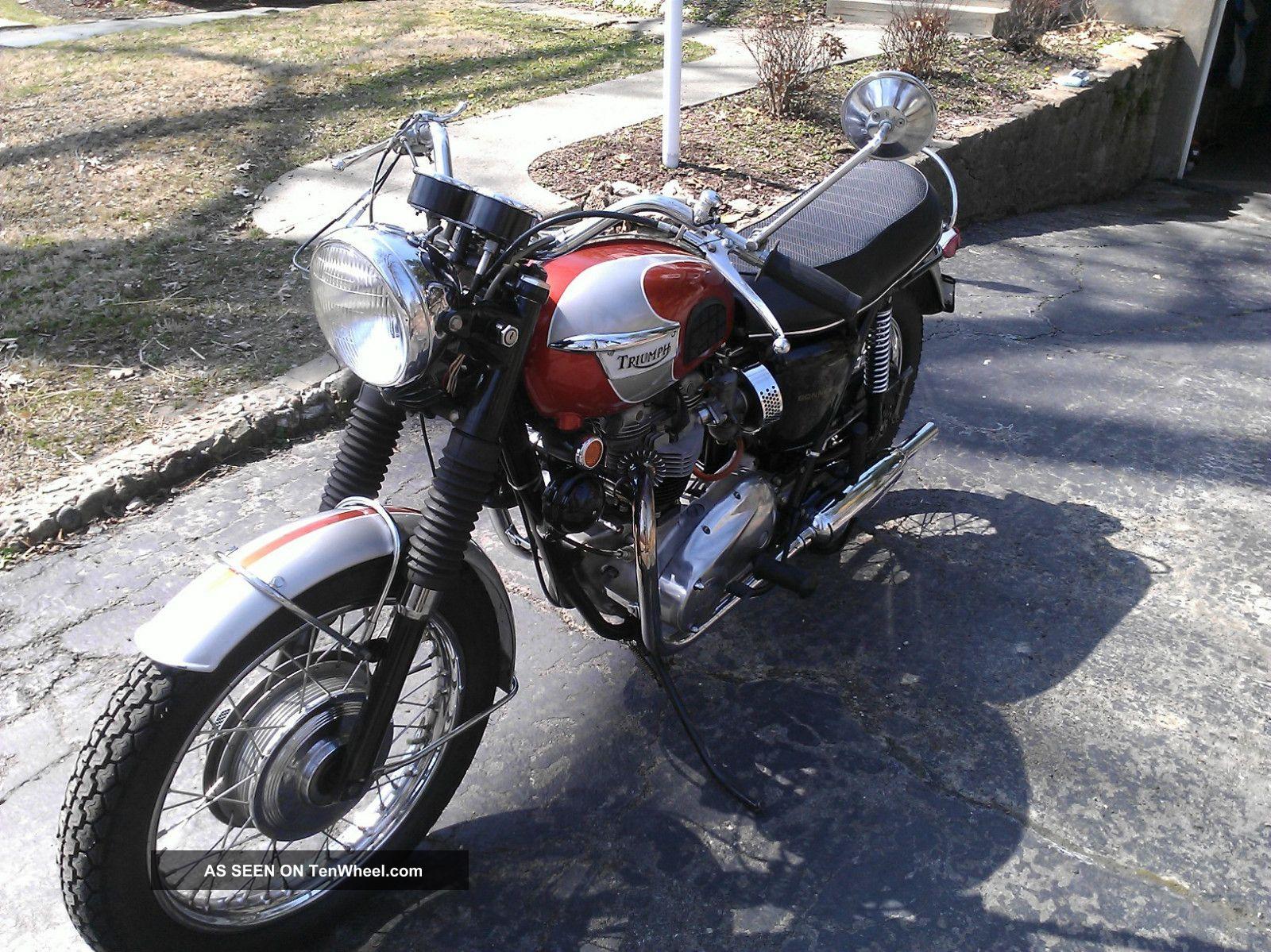 1969 Triumph Bonnevillet120 Bonneville photo