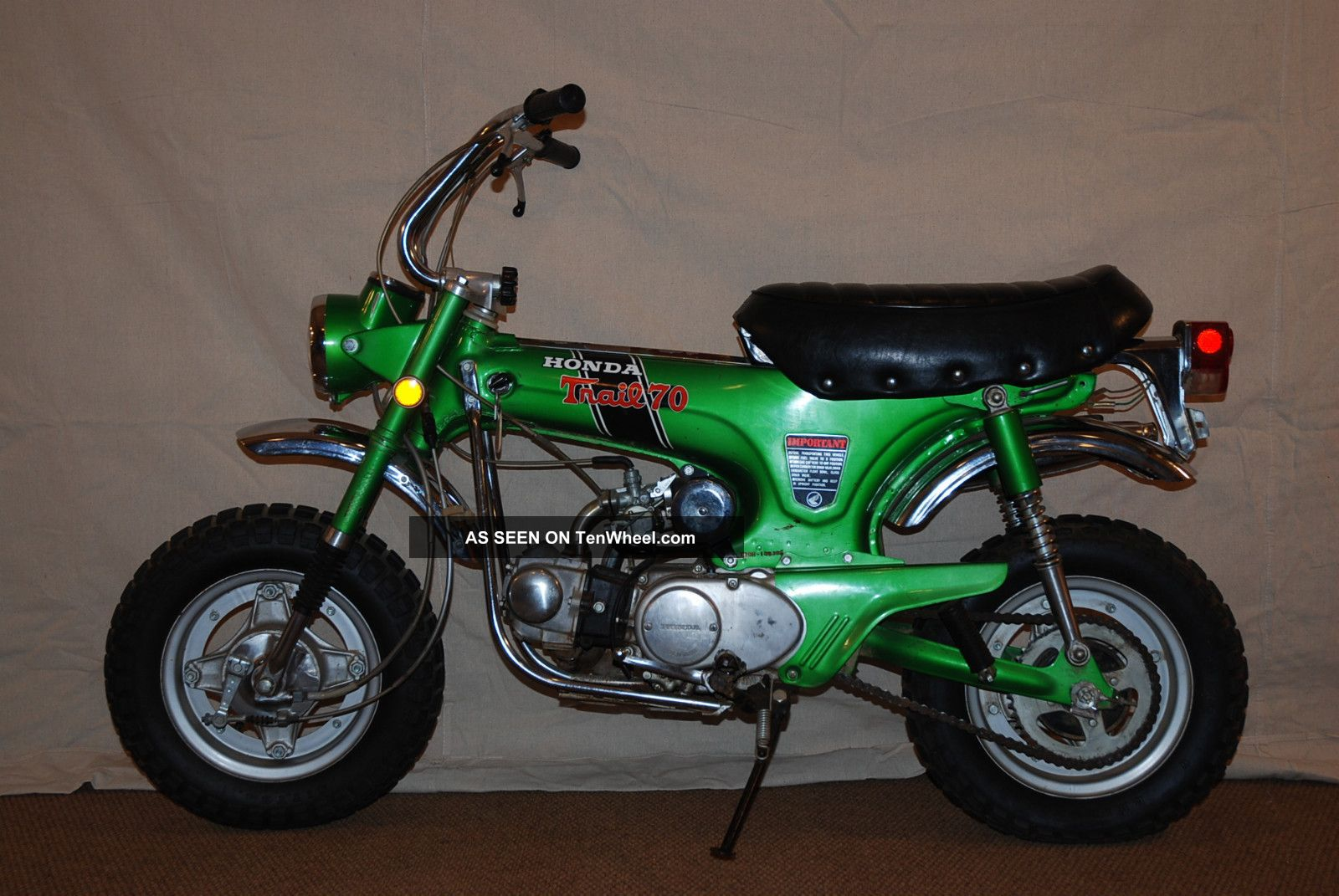 1970 Honda Ct70h - Green - 4 Speed - Unrestored - Private Collection Other photo
