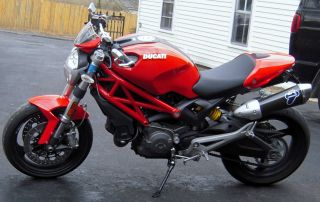 2009 Ducati Monster 696,  Red On Red Frame,  All Best Upgrades,  Better Than photo
