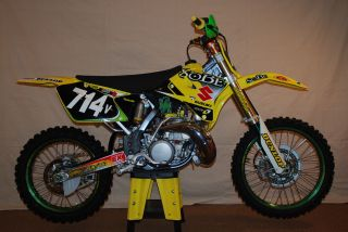 2004 Custom Rm 250 - This Is A Bike - Started Once In 2004 - Motocross Mx photo