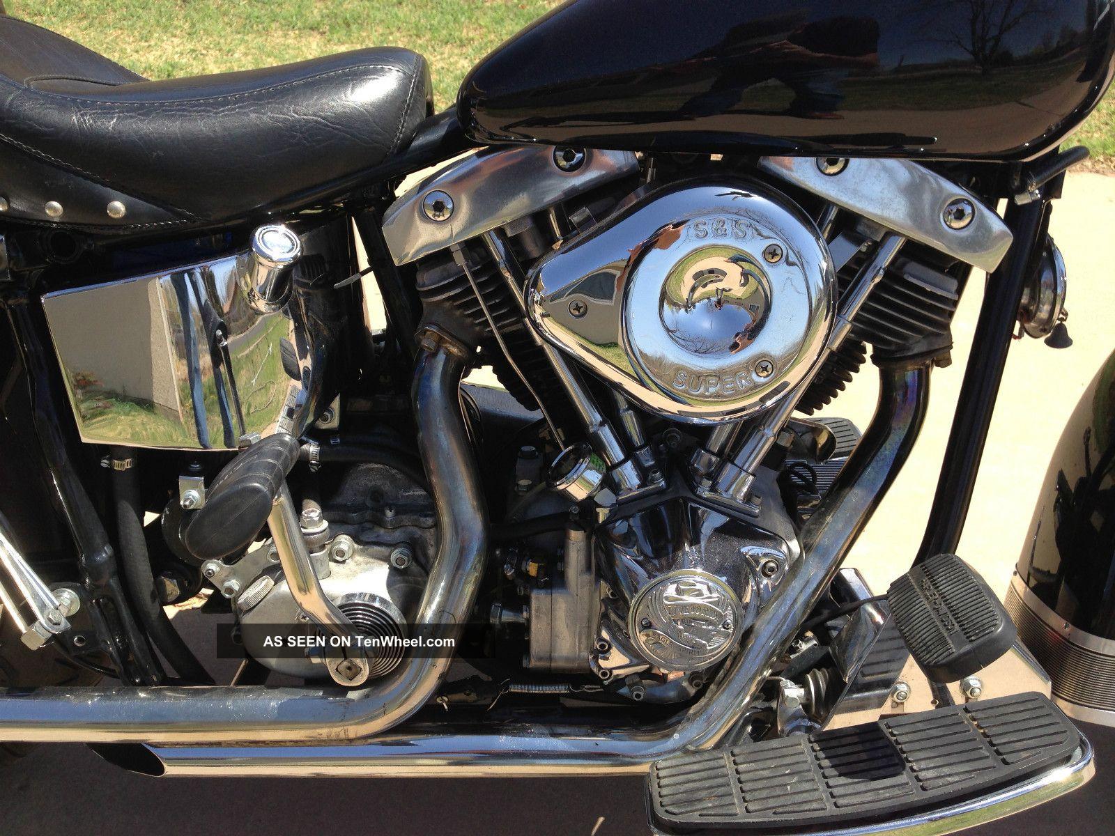 1980 Harley Davidson Flh Classic Shovel Head