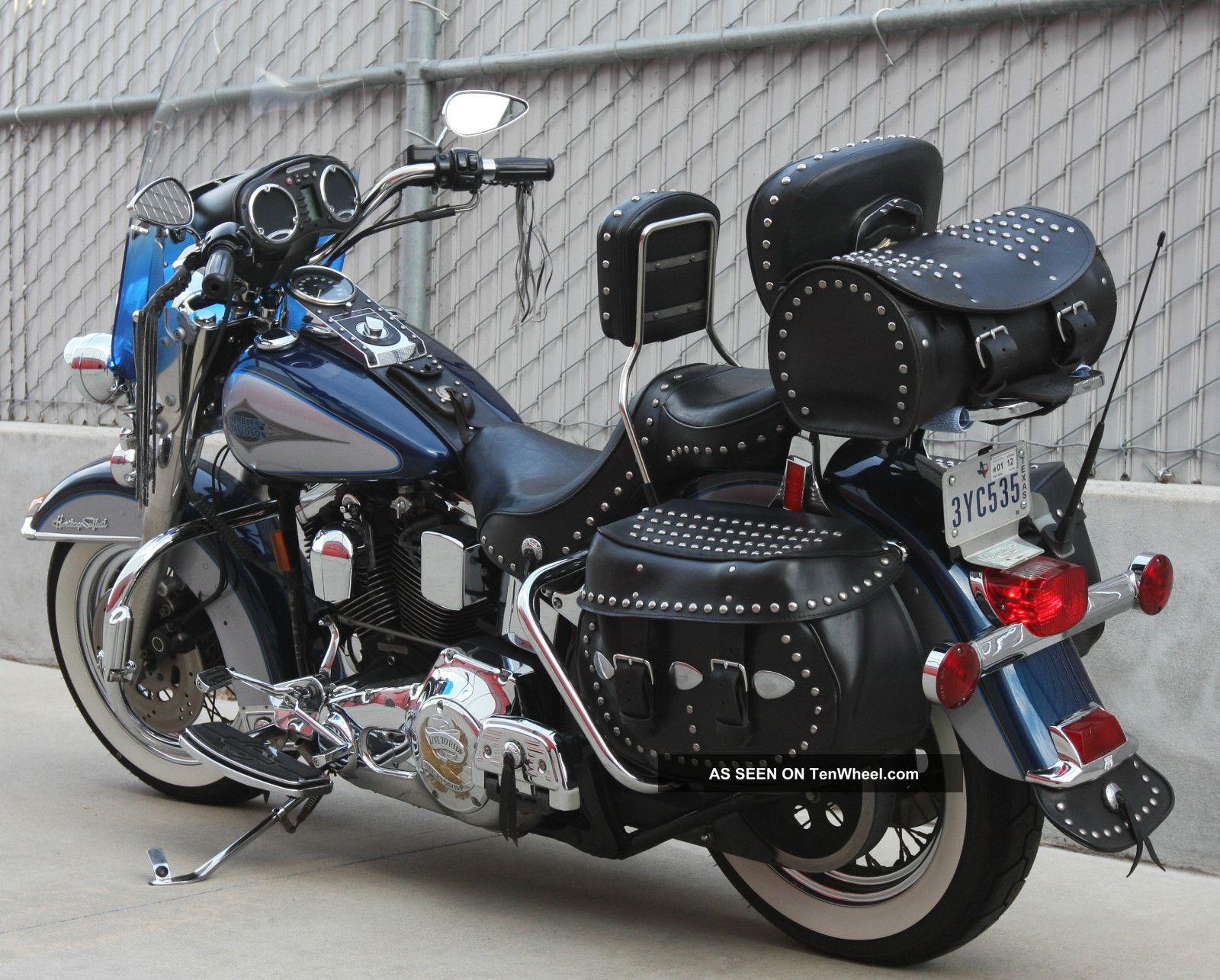 1999 Harley Davidson Flstc Heritage Softail Classic Clic