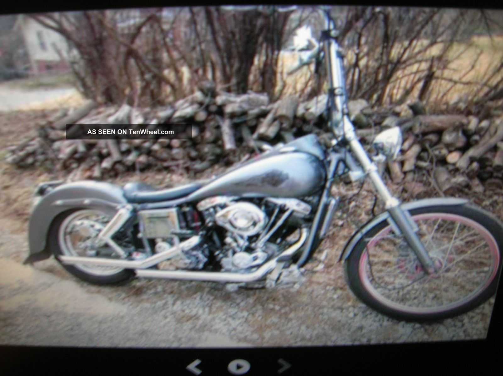 1973 Harley Davidson Fx Wide Glide Shovel Head Old School Other photo