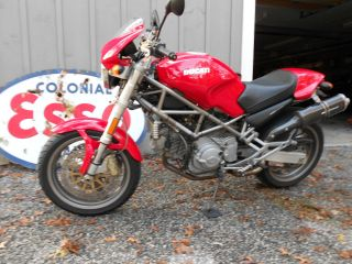2002 Ducati 900 Monster Red Remus Performance Bike photo