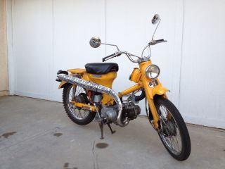 1968 Honda Ct90 Yellow photo