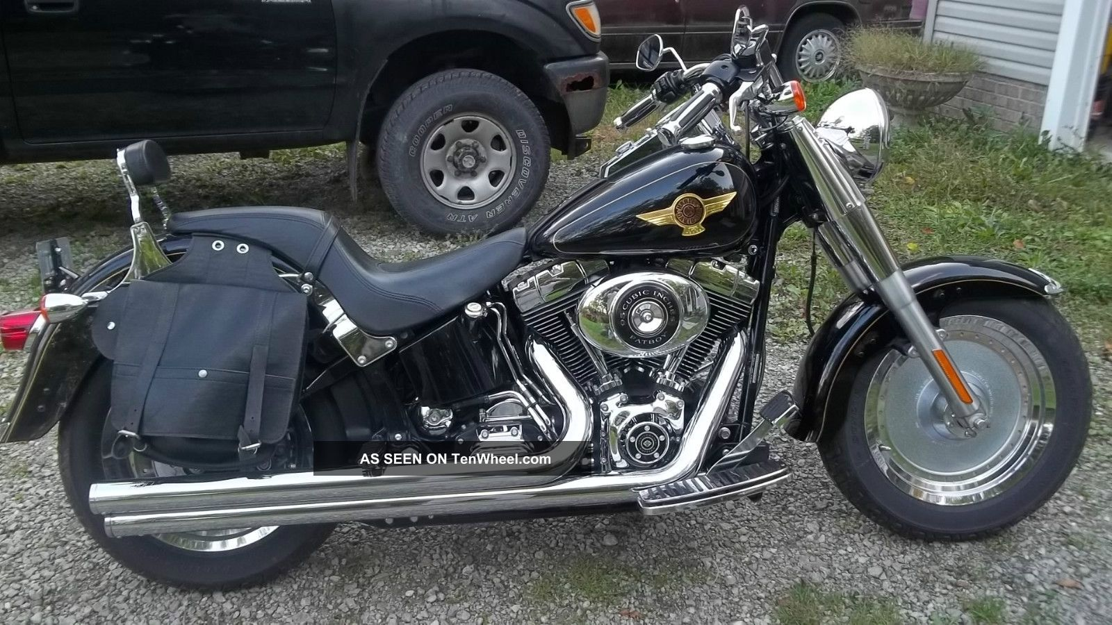 2005 Harley Fatboy Fat Boy 15th Anniversary Ltd Ed.  95 Cu 11k Mi A. Softail photo