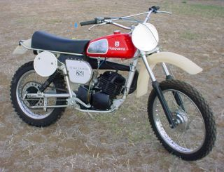 1976 Husky 250wr Cross Country • Time Capsule Stored Since 1977 • Wr250 250 Wr photo