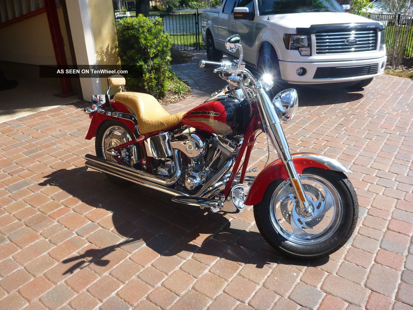 2005 Limited Edition Harley Davidson Screamin ' Eagle Fatboy Softail photo