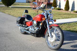 2007 Honda Shadow Spirit Vt 750 C2f photo