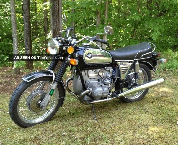 1972 Bmw R75 / 5 Toaster With Short Wheel Base (swb) R-Series photo