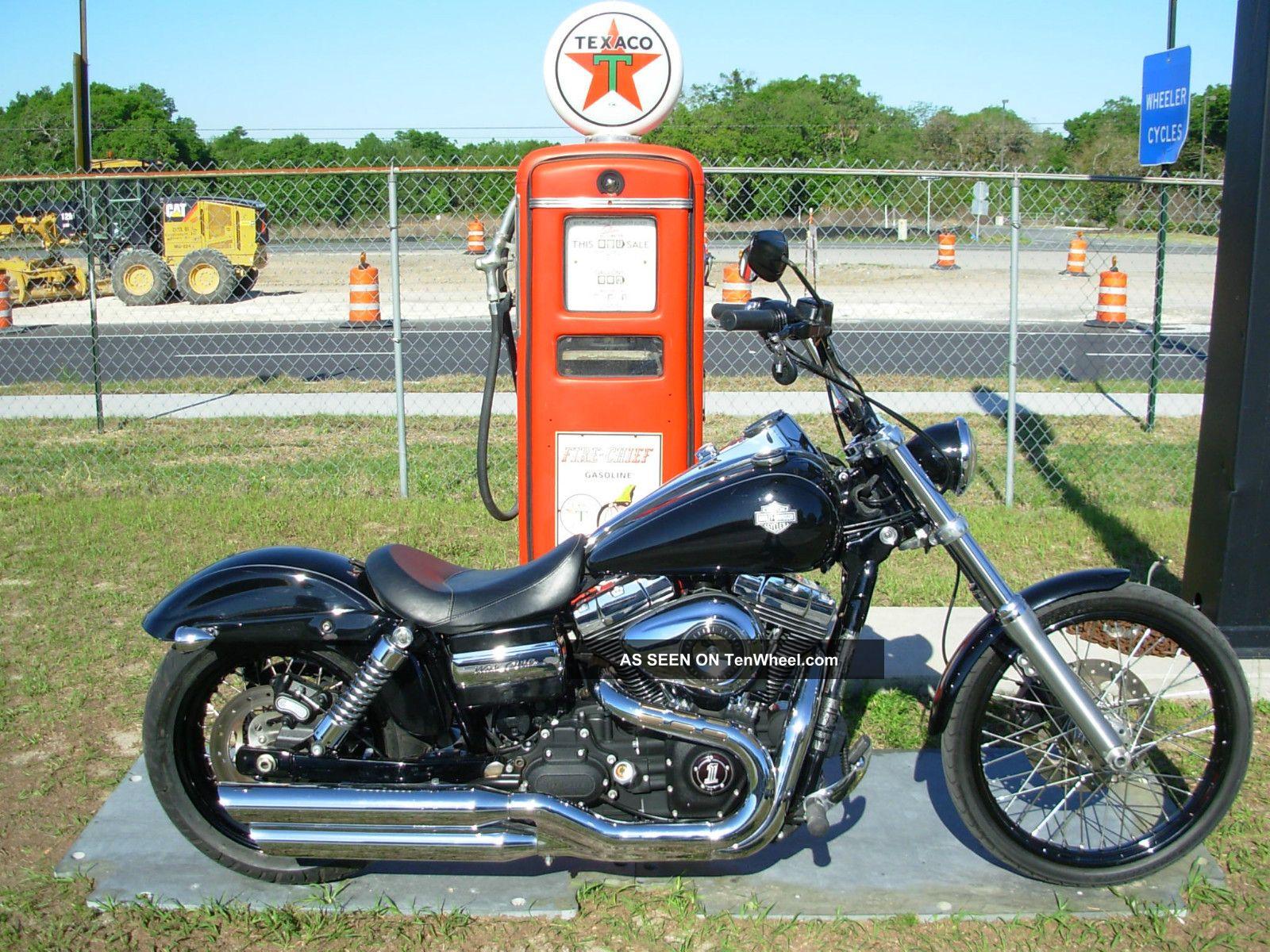 2011 Fxdwg Harley Davidson Dyna Wide Glide