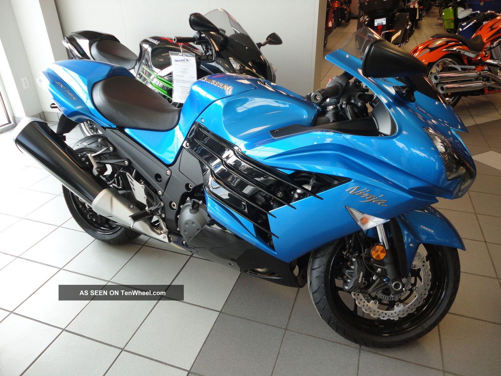 Kawasaki Ninja 1400cc - Motorcycle Wallpaper
