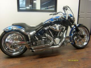 One Of A Kind Custom 2002 Yamaha Road Star Warrior photo