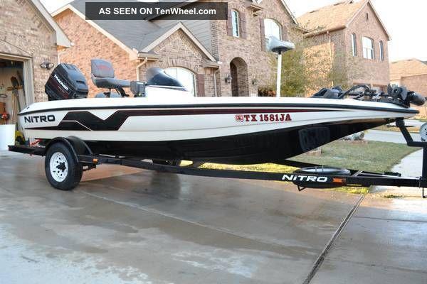 1998 Nitro 700 Lx Bass Fishing Boats photo