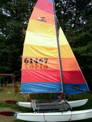 1981 Hobie Cat H16 photo