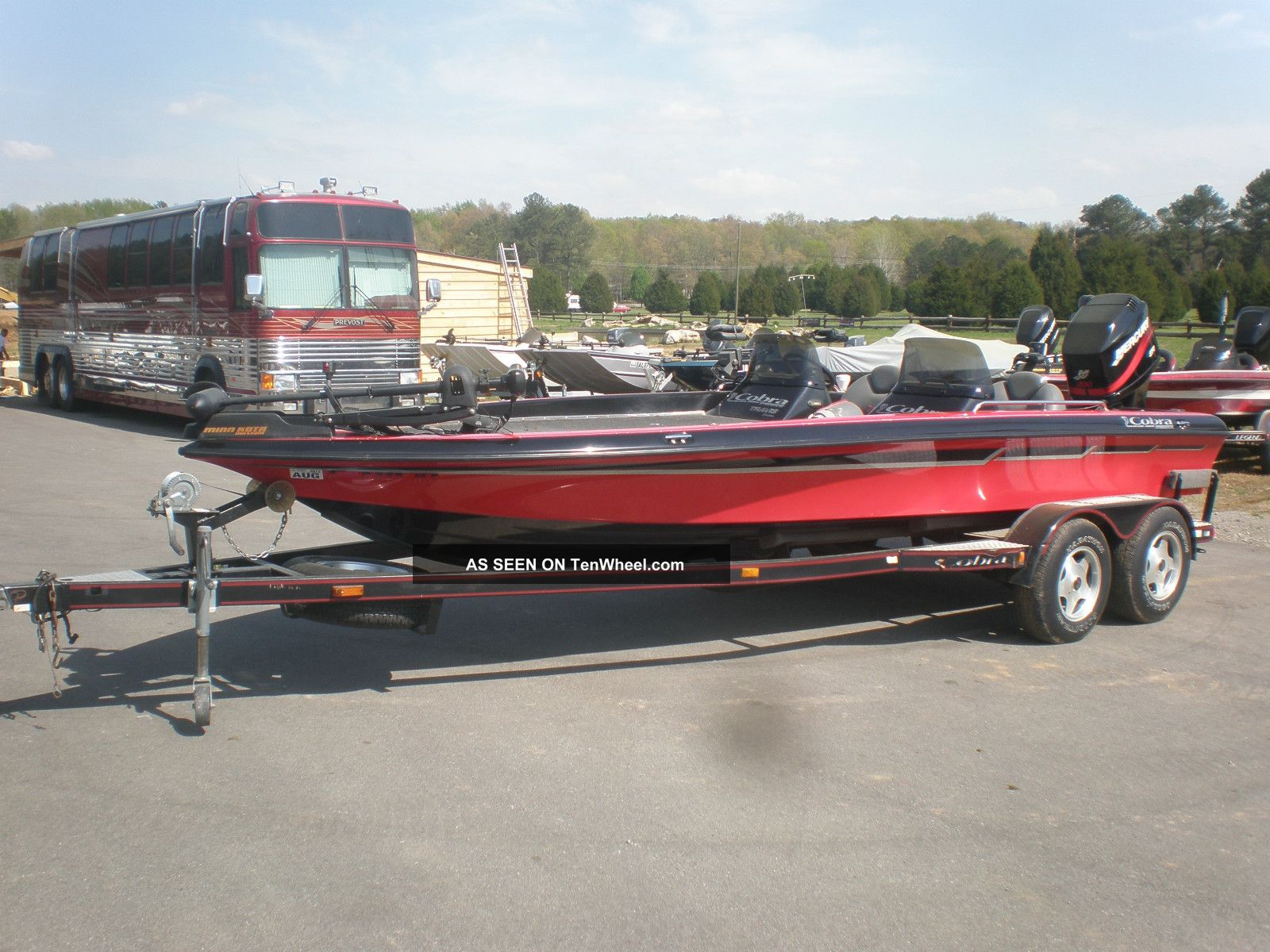 2000 Cobra 201 Bass Fishing Boats photo