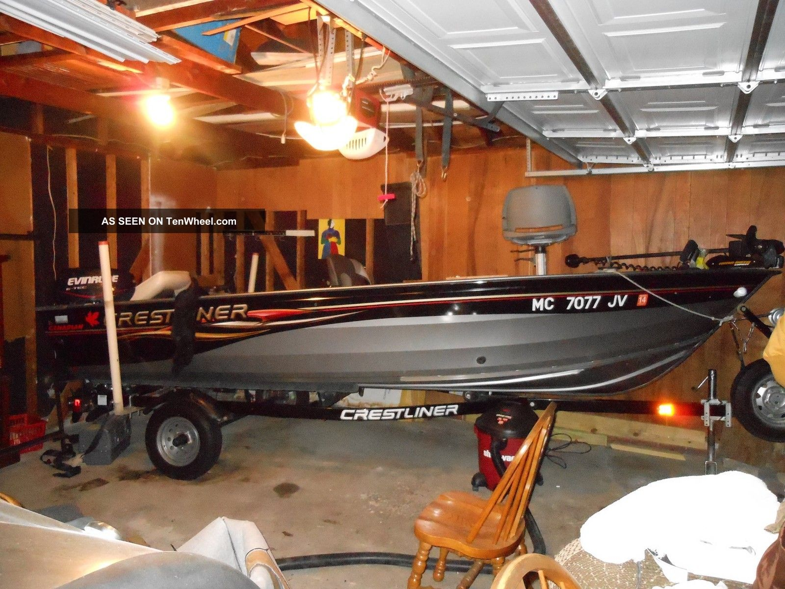 2008 Crestliner Canadian Bass Fishing Boats photo