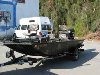 2011 Triton 16ft Bass Boat photo