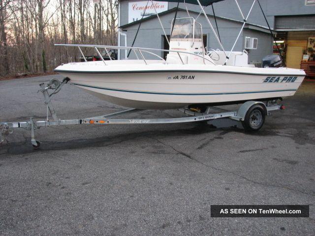 1996 Sea Pro 180