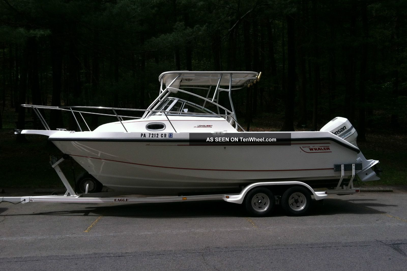1998 Boston Whaler Conquest Inshore Saltwater Fishing photo