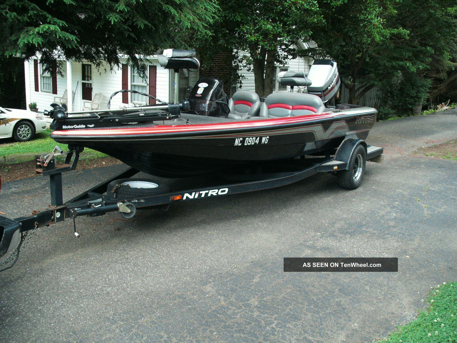 1997 Nitro 884 Savage Bass Fishing Boats photo