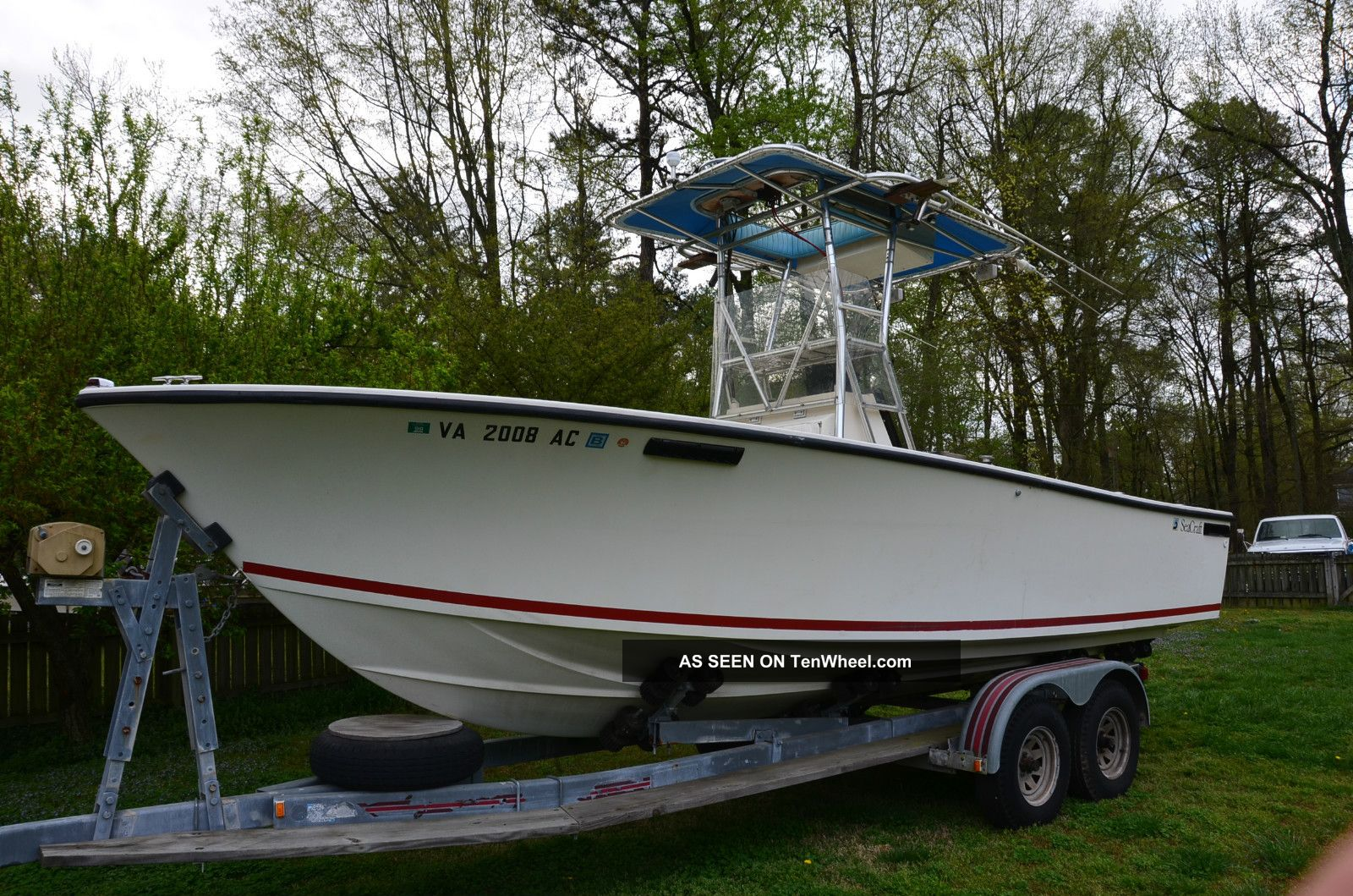 1978 Sea Craft 23 Foot Offshore Saltwater Fishing photo