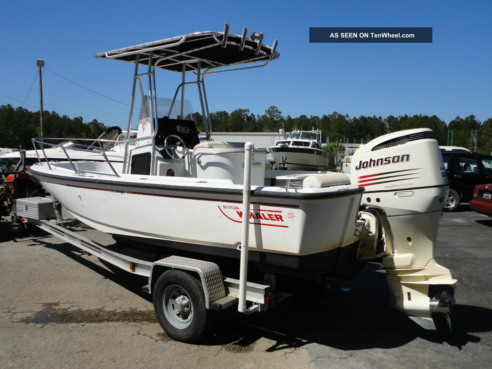 1997 Boston Whaler 20 Outrage Offshore Saltwater Fishing photo