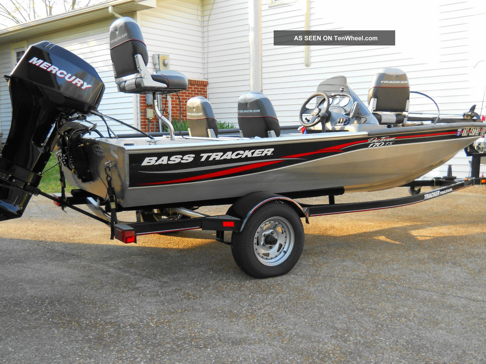 2007 bass tracker 170tx for Bass tracker fishing boats